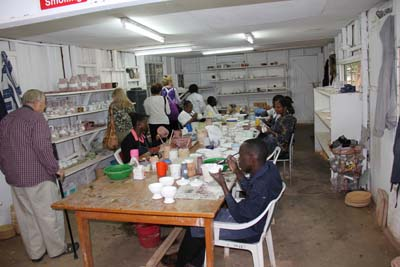 Another Picture of the Kazuri Bead Factory, Nairobi