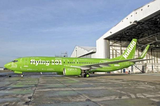 a Picture of Kulula Plane #7