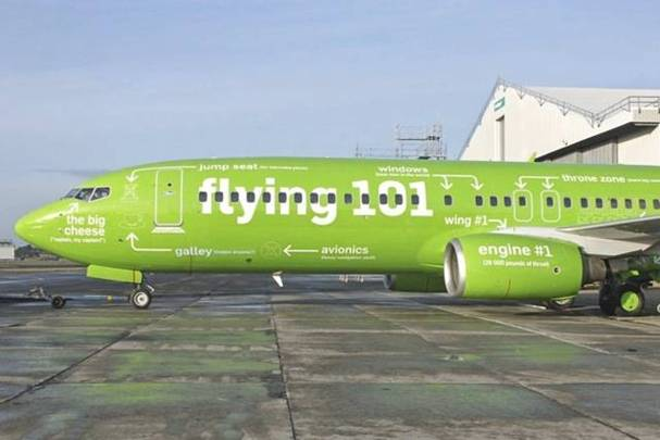 a Picture of Kulula Plane #10