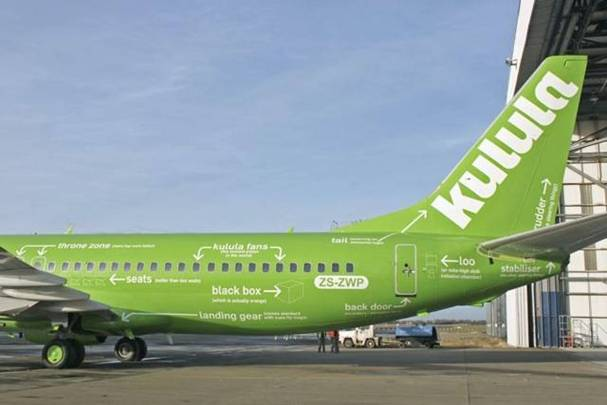 a Picture of Kulula Plane #13