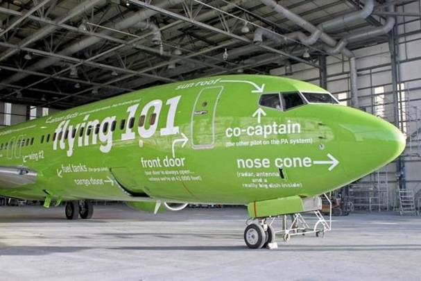 a Picture of Kulula Plane #16