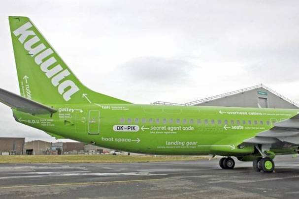 a Picture of Kulula Plane #19