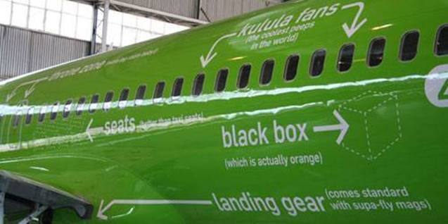 a Picture of Kulula Plane #28