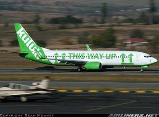 a Picture of Kulula Plane #31