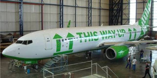 a Picture of Kulula Plane #34